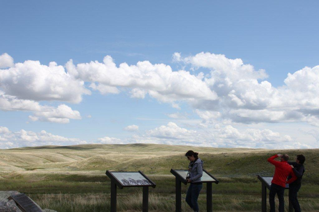 Bear Paw Battlefield interpretive panels