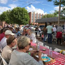 Montana's Longest Table spanned two city blocks in Lewistown