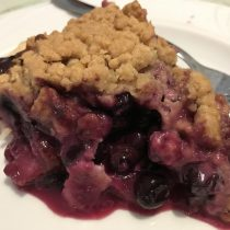 Strawberry Blueberry Pie at Wake Cup Coffeehouse