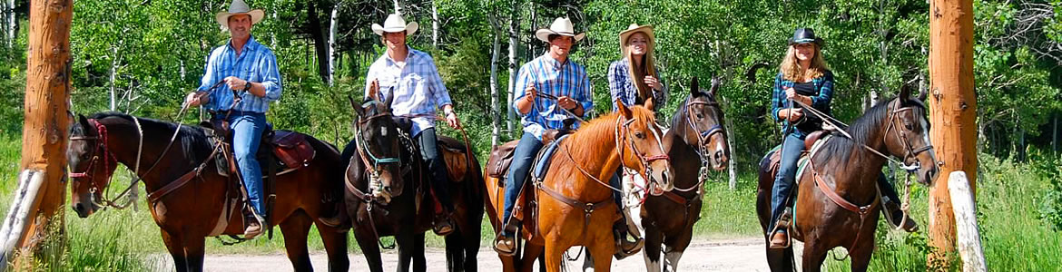 Horseback Riding in Central Montana