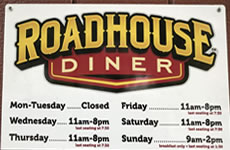 Roadhouse Diner, Great Falls