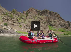 Explore the Missouri River in Central Montana