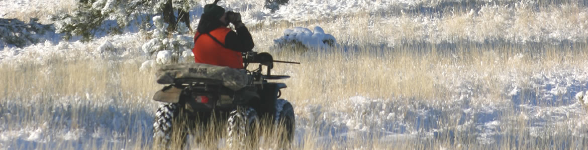 Central Montana Winter Hunting