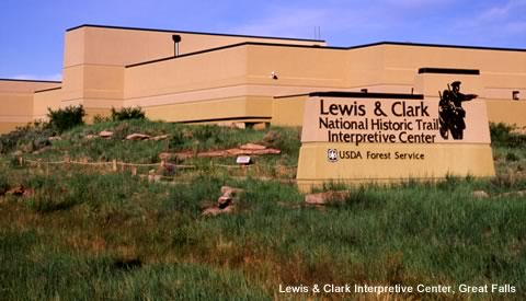 Lewis & Clark Interpretive Center, Great Falls