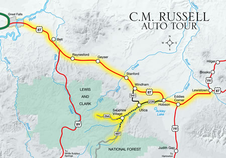C.M. Russell Auto Tour