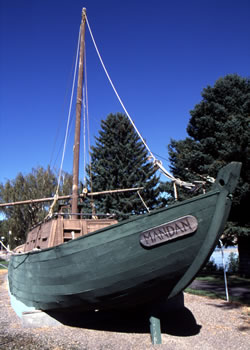 Fort Benton - Keelboat Replica