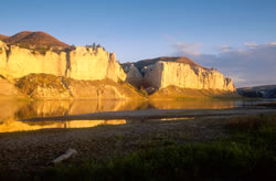 White Cliffs of the Missouri River