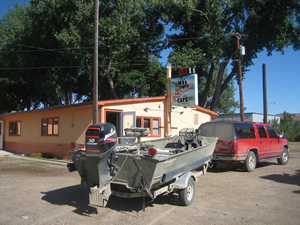 Ma's Cafe in Loma, Montana